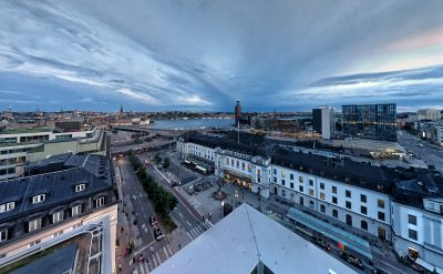 Sthlm by skymning